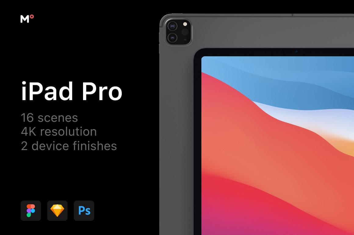 iPad Pro 12.9-inch Mockups Scenes