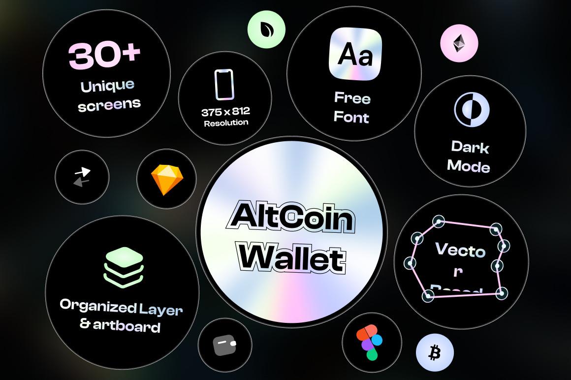 Crypto Wallet UI Kit