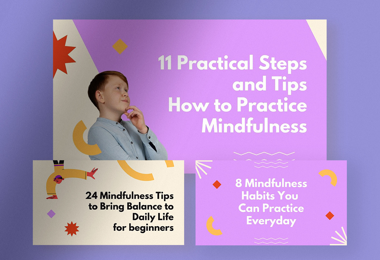 Mindful Tips Youtube Thumbnails