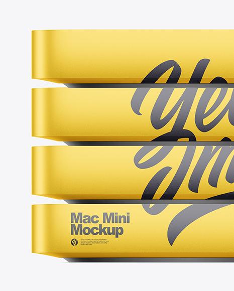 Mac Mini Mockup