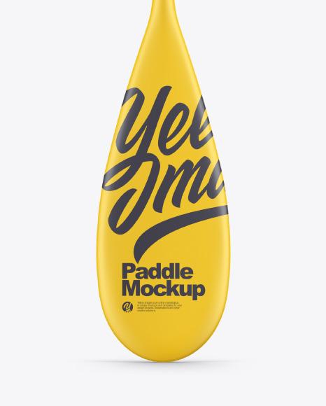Paddle Mockup
