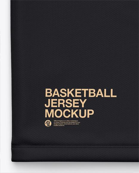 Basketball Jersey Mockup