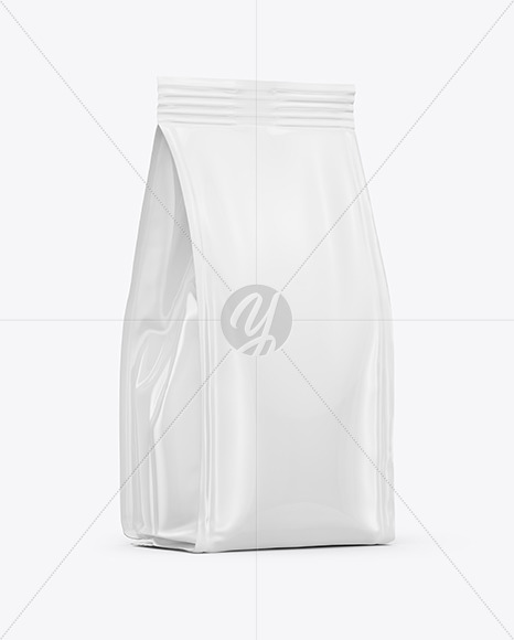 Food Bag Mockup - Half Side View