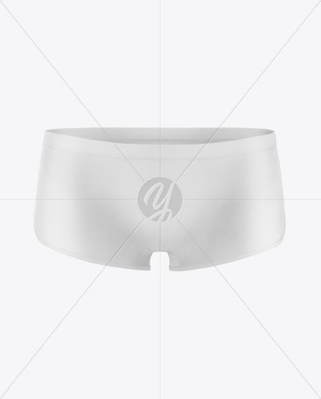 Woman's Panties Mockup - Front View