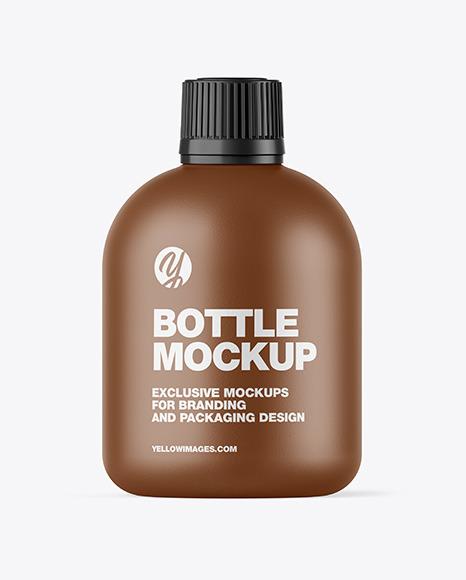 Textured Cosmetic Bottle Mockup
