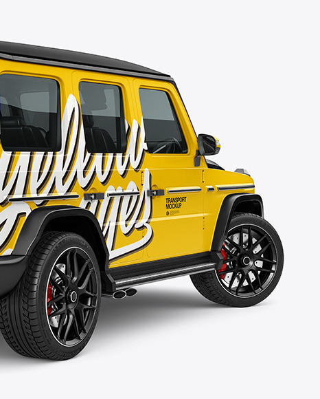 Full-size Luxury SUV - Back Half Side