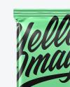 Metallized Chocolate Bar Mockup