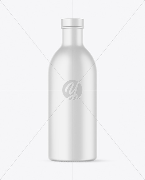 Matte Bottle Mockup