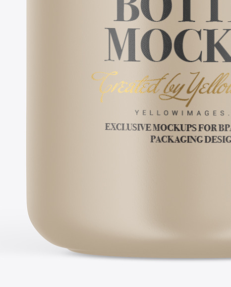 Ceramic Perfume Bottle Mockup
