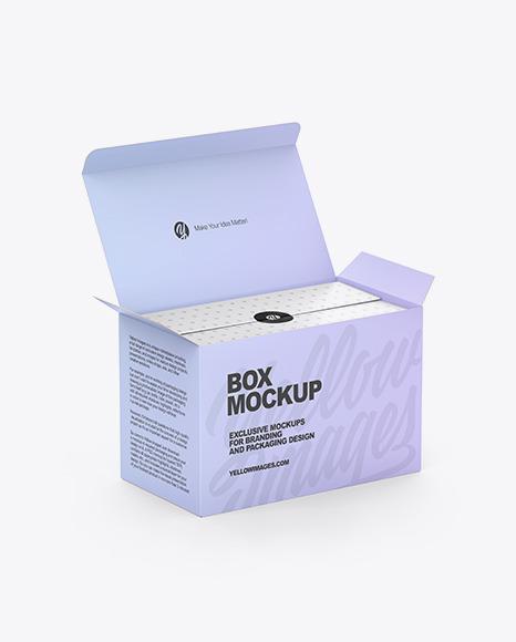 Opened Box Mockup