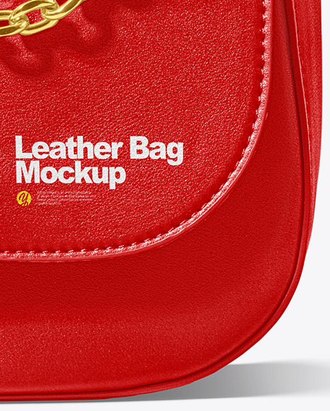 Leather Bag Mockup - Front View
