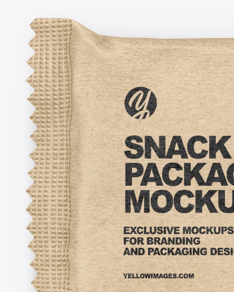 Kraft Snack Bar Mockup