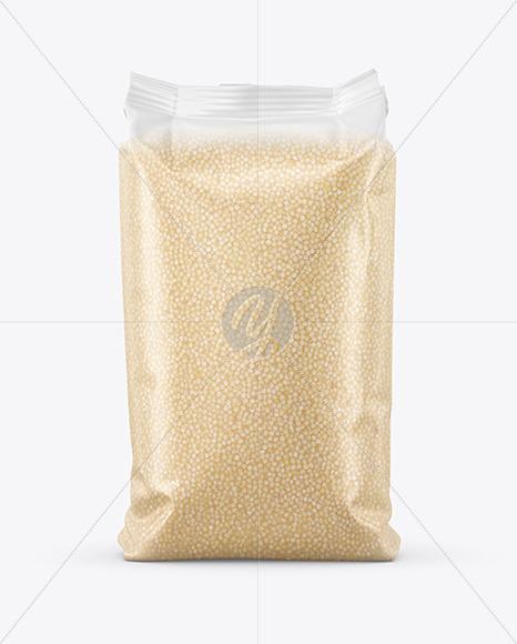 Matte Millet Package Mockup