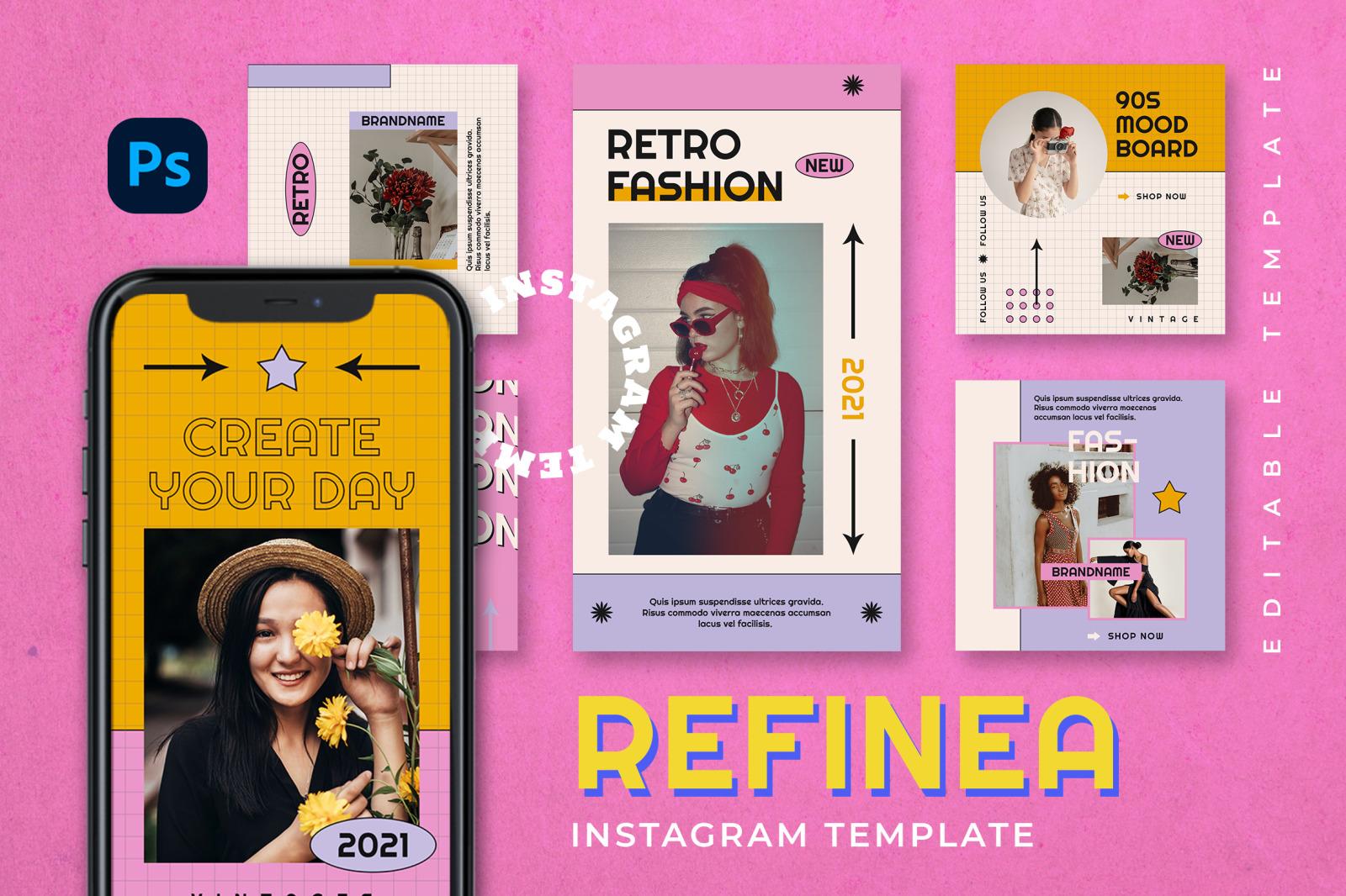 Refinea Instagram Template