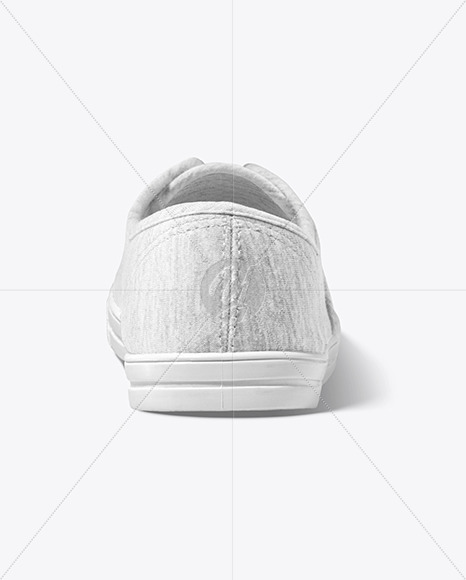 Sneaker Mockup - Back View