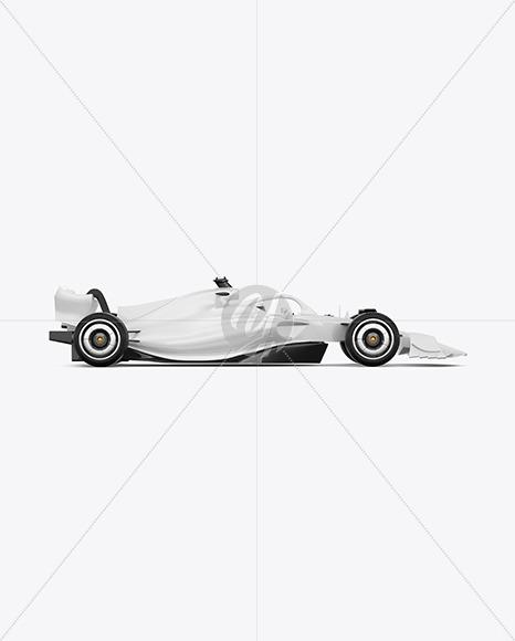 Formula-1 2022 Mockup - Side View
