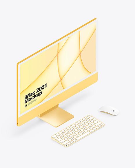 "iMac 24"" Mockup"