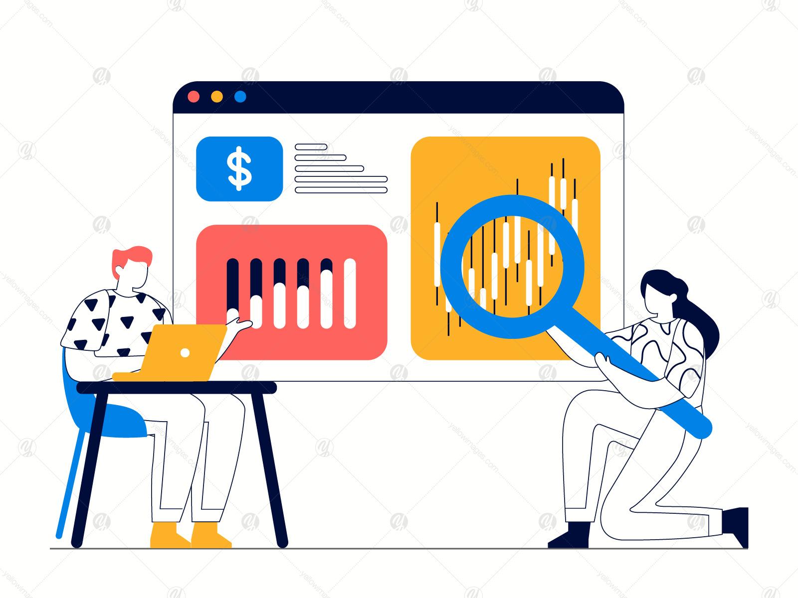 Analysis Business Illustration Vol 2