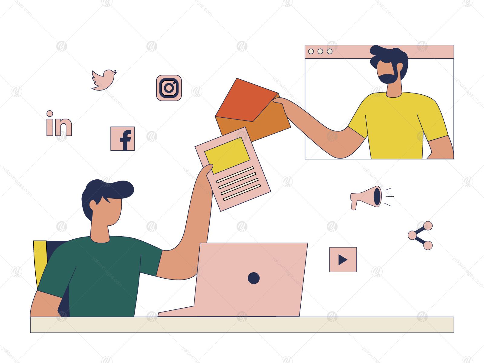Digital Marketing Illustration Vol 3