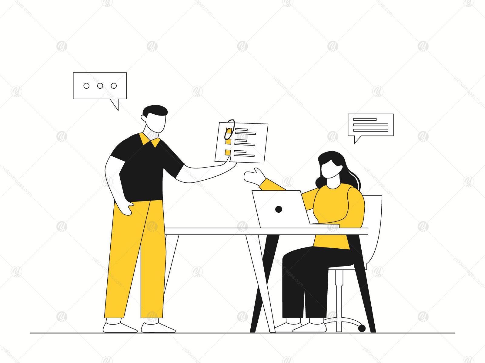 Startup Business Illustration Vol 2