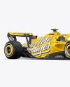 Formula-1 2022 Mockup - Half Side View