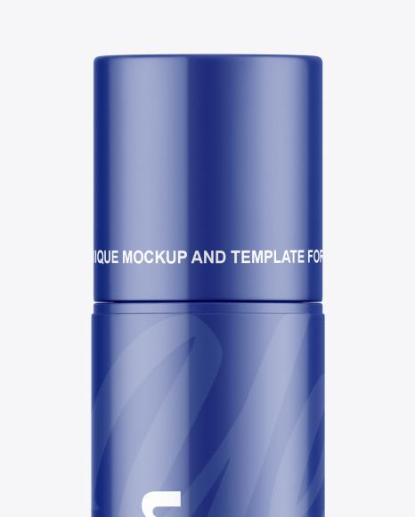 Glossy Lip Balm Tube Mockup