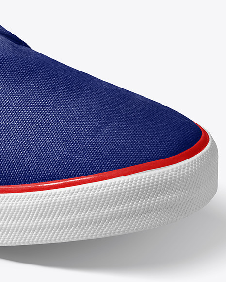 Sneaker Mockup - Half Side View