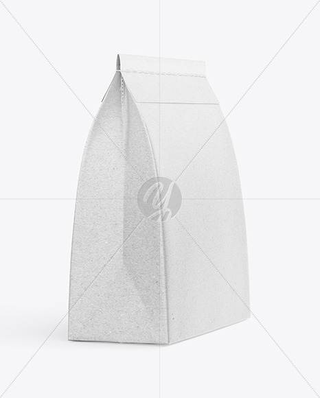 Kraft Paper Food Bag Mockup