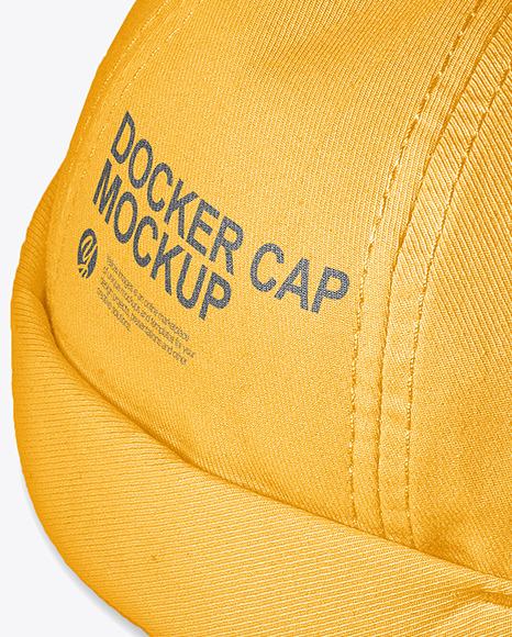 Docker Cap Mockup