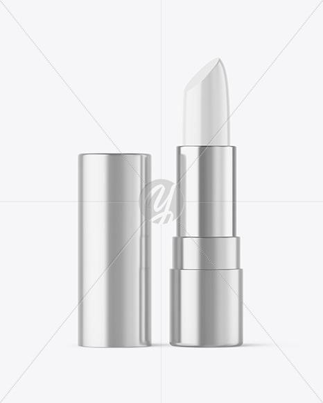 Metallic Lipstick Tube Mockup