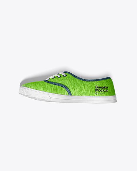 Two Sneakers Mockup