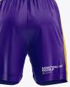 Basketball Kit Mockup - Back View