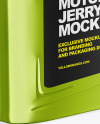Metallic Jerry Can Mockup