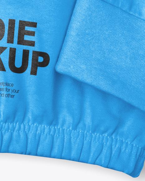 Hoodie Mockup – Top View
