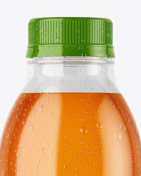PET Bottle in Shrink Sleeve Mockup