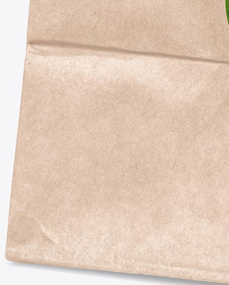 Kraft Paper Shopping Bag Mockup