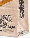 Kraft Paper Shpping Bag Mockup