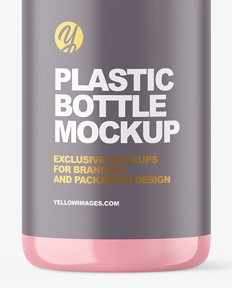 Clear Liquid Soap Cosmetic Bottle with Pump Mockup