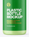 Frosted Liquid Soap Cosmetic Bottle with Pump Mockup