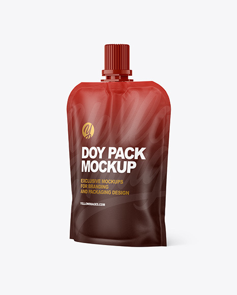 Paper Doy Pack Mockup