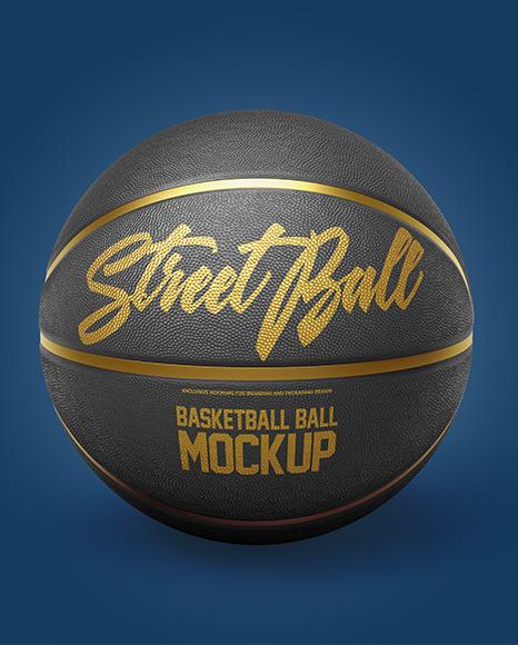 Basketball Ball Mockup
