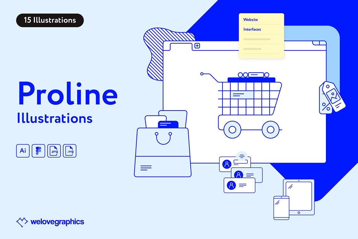 Proline Illustrations