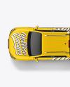 Luxury Pickup Truck Mockup - Top View