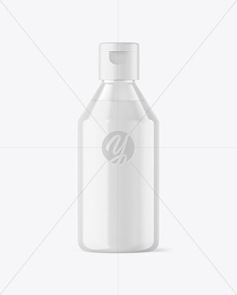 Clear Liquid Soap Cosmetic Bottle Mockup