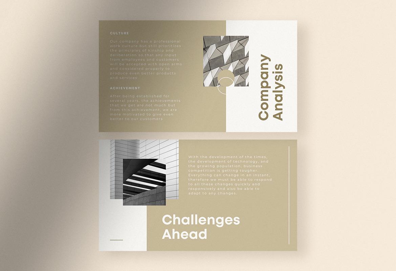 Minimalist Mild Marketing Strategy Presentation Canva