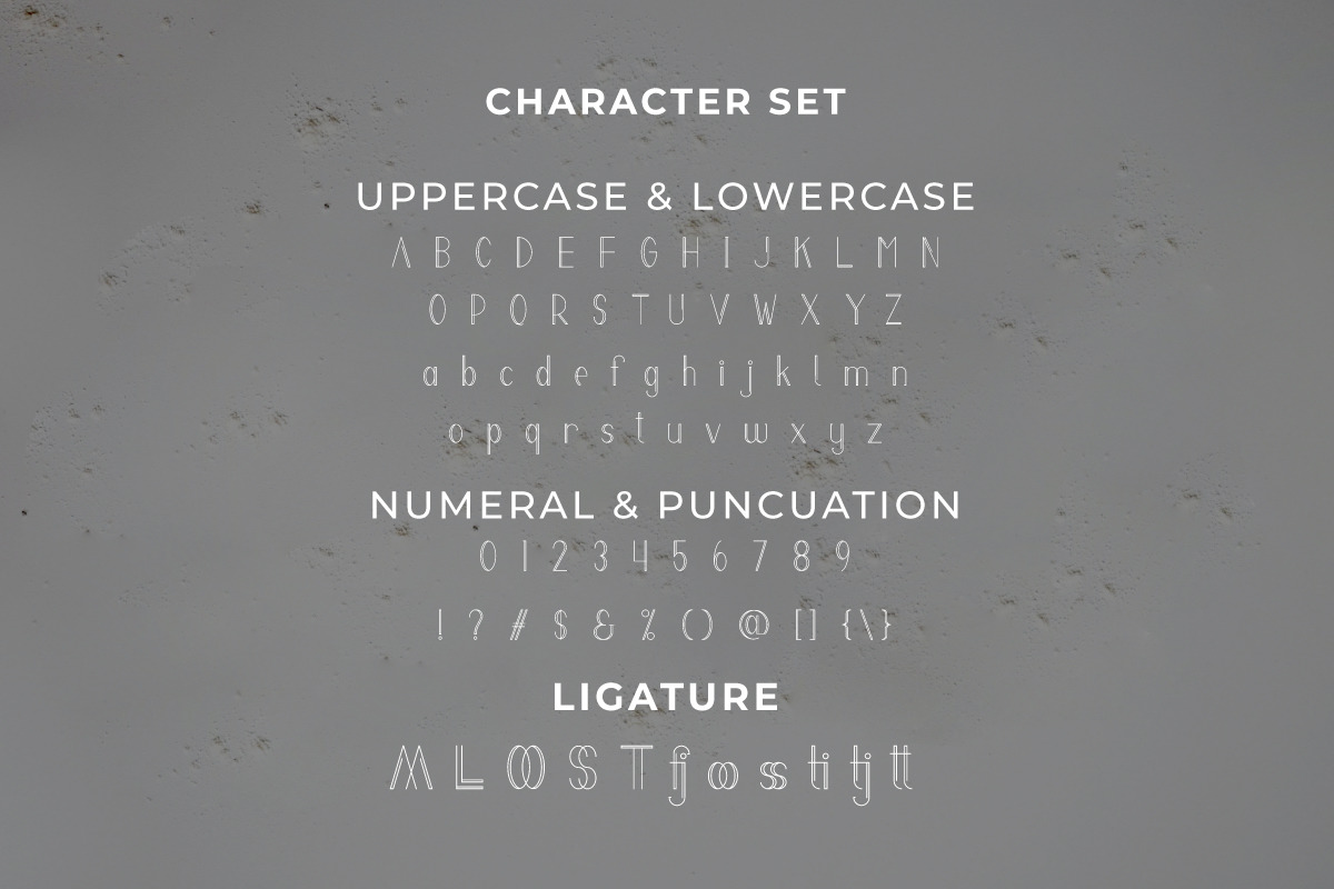 Melati Modern Font
