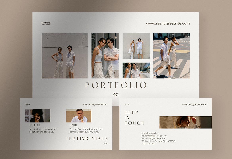 Beige Minimalist Company Profile Presentation Canva
