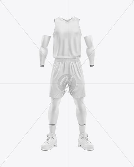 Basketball Kit Mockup - Front View