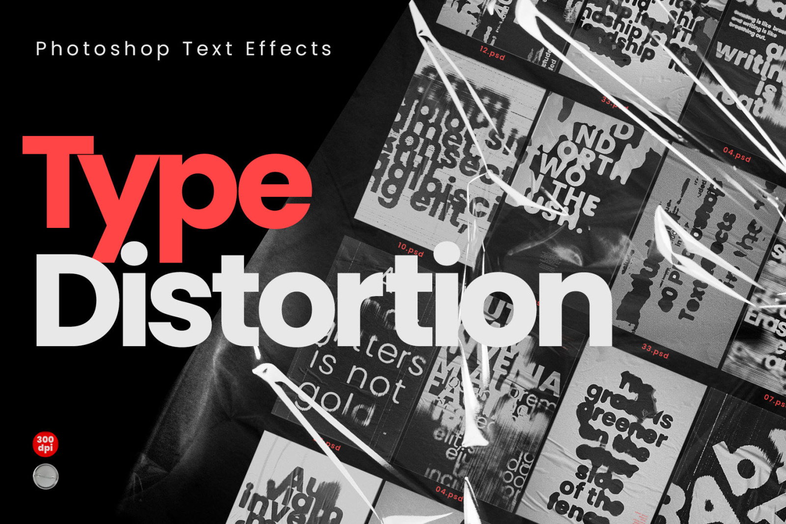40 x Photoshop Text Effects