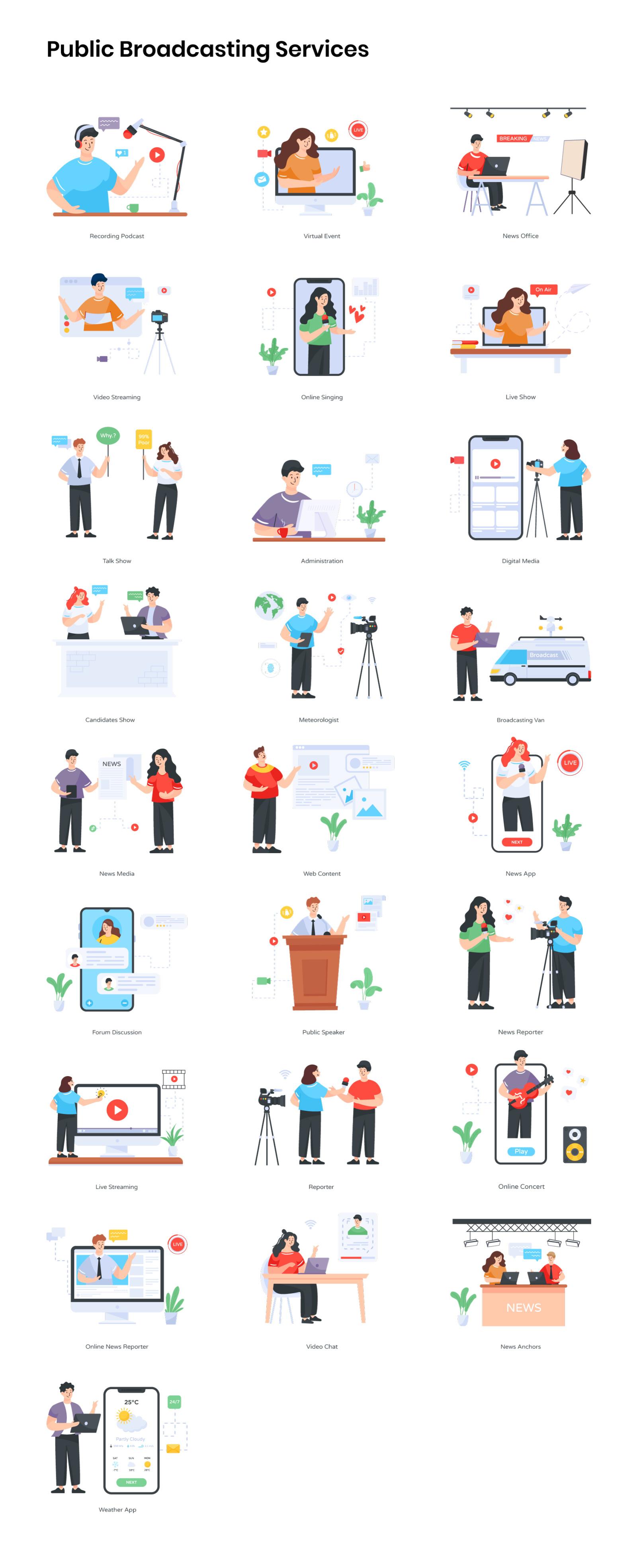350+ Illustrations Pack